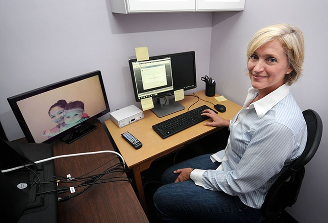 ETSU's Shannon Ross-Sheehy's research into the cognitive development of infants could result in a $1 million grant from the Bill and Melinda Gates Foundation. (Photo Contributed